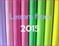 Lessons I've learned in 2015 - Scribbles & Thoughts